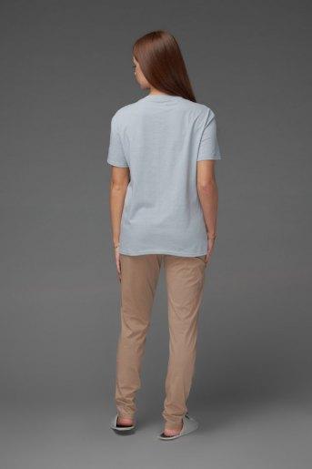 Женская пижама ЖП 024/6 (T) (Серый_какао) (Фото 2)
