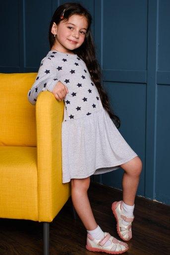 Платье 10487 детское (N) (Звезды) (Фото 2)