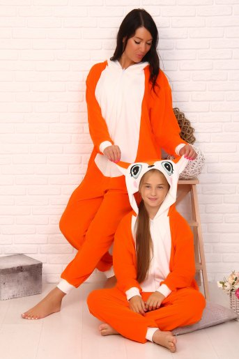 Комбинезон 11520 детский (N) (Оранжевый) (Фото 2)