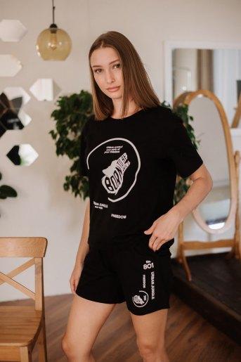 Женский костюм ЖК 029 (T) (Черный (801)) (Фото 2)