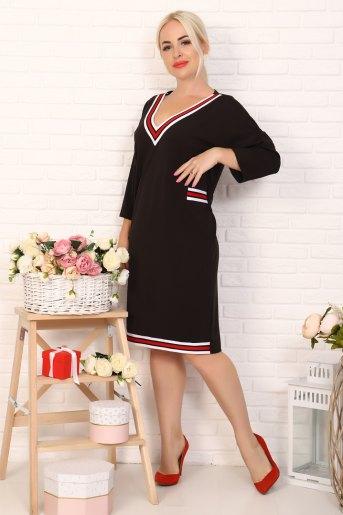 Платье 10359 (N) (Черный) - Злата