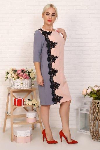 Платье 10360 (N) (Серый) - Злата