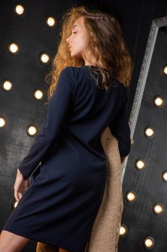 Платье 2640 (N) (Темно-синий) (Фото 2)