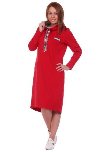 Арт.42П-120 Платье женское (Красный) - Злата