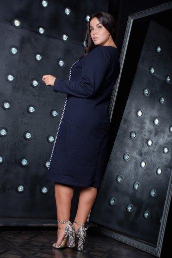 Платье Бавария (N) (Темно-синий) (Фото 2)