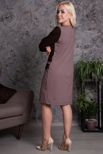 Платье Грация (N) (Шоколад) (Фото 2)