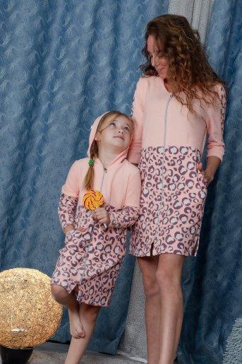 Халат 5078 детский (N) (Персиковый) - Злата