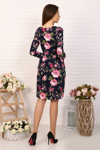Платье 10508 (N) (Цветок) (Фото 2)