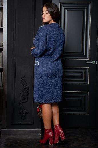 Платье 13357 (N) (Синий) (Фото 2)