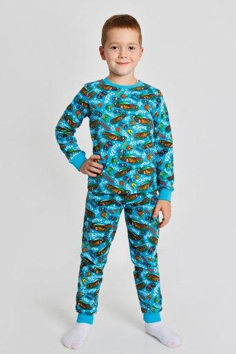 Пижама Заря детская (N) (Бирюзовый) - Злата