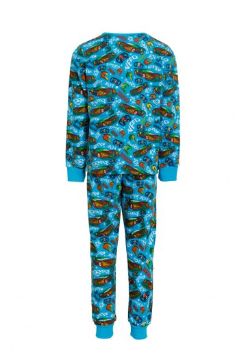 Пижама Заря детская (N) (Бирюзовый) (Фото 2)