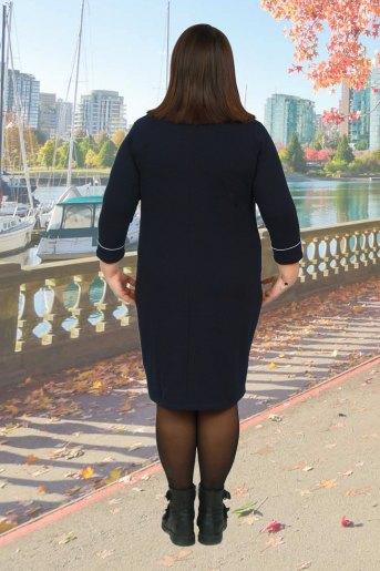 Платье 19017 (N) (Темно-синий) (Фото 2)