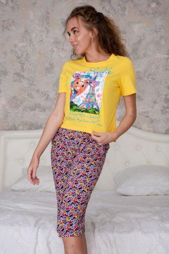 Пижама 6333 (N) (Желтый) - Злата