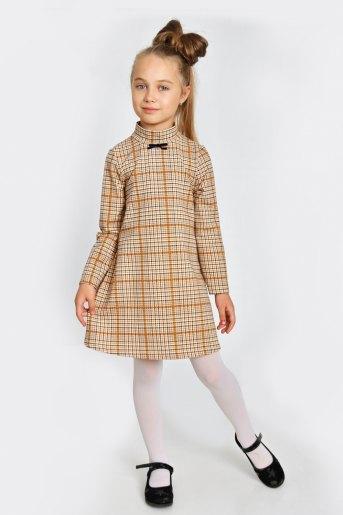 Платье Айгуль детское (N) (Оранжевый) - Злата