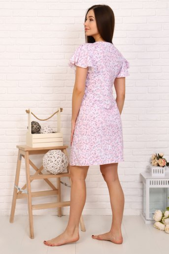 Сорочка Мурзик (N) (Розовый) (Фото 2)