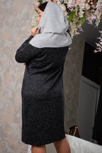 Платье 13368 (N) (Антрацит) (Фото 2)