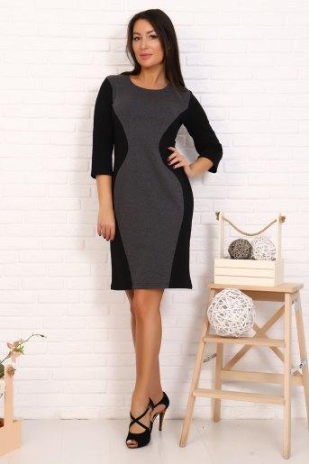 Платье 2396 (N) (Черный) - Злата