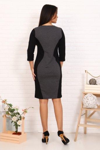 Платье 2396 (N) (Черный) (Фото 2)