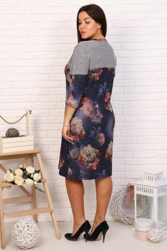 Платье Кэрол (N) (Синий) (Фото 2)