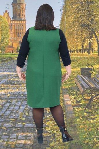 Сарафан 19019 (N) (Зеленый) (Фото 2)