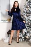Платье 10514 (N) (Синий) (Фото 3)