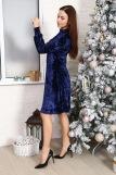 Платье 10514 (N) (Синий) (Фото 4)