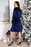 Платье 10514 (N) (Синий) (Фото 5)