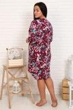 Платье 10520 (N) (Бордо) (Фото 2)