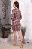 Платье 12868 (N) (Коричневый) (Фото 2)