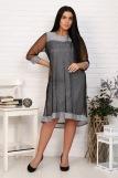 Платье 25001 (N) (Серый) (Фото 1)