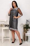 Платье 25001 (N) (Серый) (Фото 3)