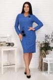 Платье 25004 (N) (Синий) (Фото 3)