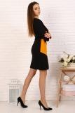 Платье 10376 (N) (Горчица) (Фото 3)