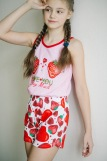 Пижама 21507 детская (N) (Розовый) (Фото 3)