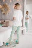 Женская пижама ЖП 039 (T) (Принт девочка со слоном) (Фото 3)