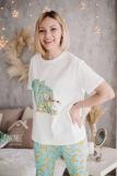 Женская пижама ЖП 039 (T) (Принт девочка со слоном) (Фото 5)