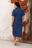 Платье 6955 (N) (Синий) (Фото 2)
