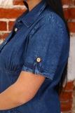 Платье 6955 (N) (Синий) (Фото 5)