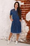 Платье 6954 (N) (Синий) (Фото 1)