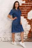 Платье 6954 (N) (Синий) (Фото 4)