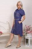 Платье 4855 (N) (Полоса) (Фото 4)