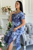 Платье 7227 (N) (Голубой) (Фото 2)