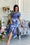 Платье 7227 (N) (Голубой) (Фото 5)