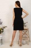 Платье 10385 (N) (Черный) (Фото 2)