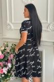 Платье 9040 (N) (Черный) (Фото 4)
