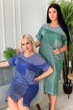 Платье 7219 (N) (Синий) (Фото 1)