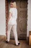 Женская пижама ЖП 062 (T) (Принт зверята_полоса) (Фото 2)