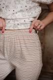 Женская пижама ЖП 062 (T) (Принт зверята_полоса) (Фото 4)