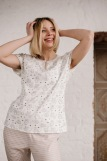 Женская пижама ЖП 062 (T) (Принт зверята_полоса) (Фото 5)