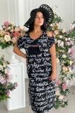 Платье 9021 (N) (Черный) (Фото 1)